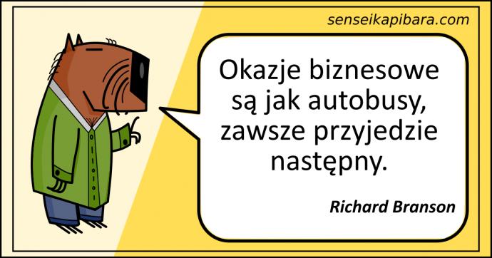 żółty - okazje biznesowe autobusy - richard branson