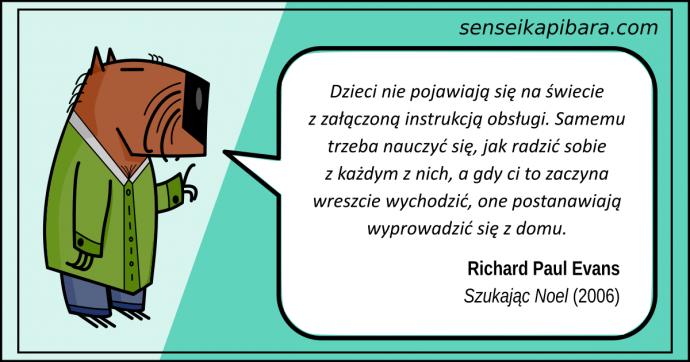 patynowy - dzieci bez instrukcji obsługi - richard paul evans