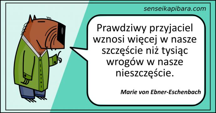 patynowy - przyjaciel wnosi więcej - ebner-eschenbach