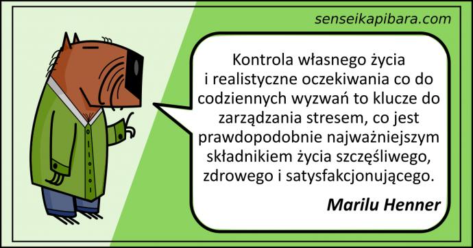 zielony - kontrola własnego życia - marilu henner