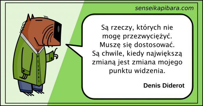 zielony - największa zmiana - denis diderot