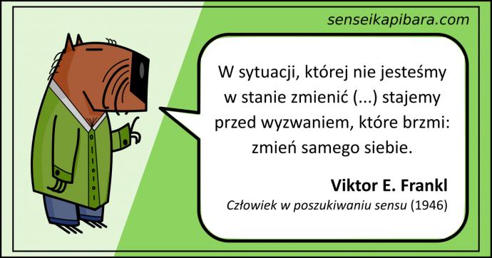 zielony - zmień samego siebie - viktor frankl