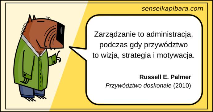żółty - zarządzanie to administracja - russell e palmer