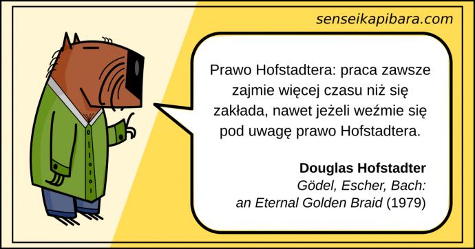 żółty - prawo hofstadtera - douglas hofstadter