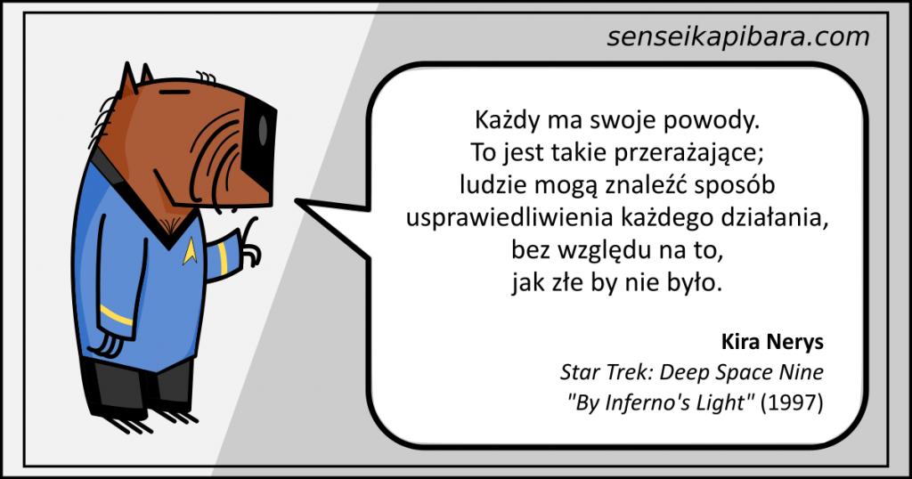 Star Trek - 023 - Każdy ma swoje powody - Kira Nerys