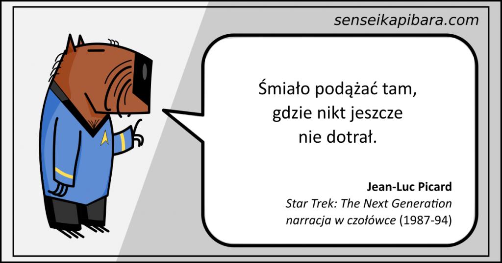Star Trek - 026 - Śmiało podążać tam gdzie nikt jeszcze nie dotarł - Jean-Luc Picard